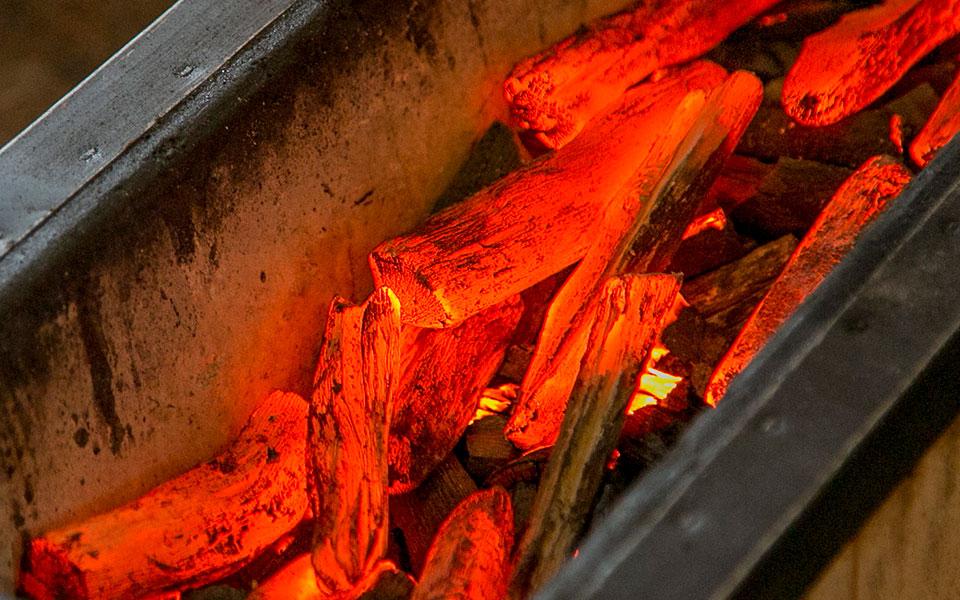 楽しむ | 備長炭の里で備長炭BBQ...